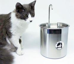 Bebedouro para Gato 2,5L INOX